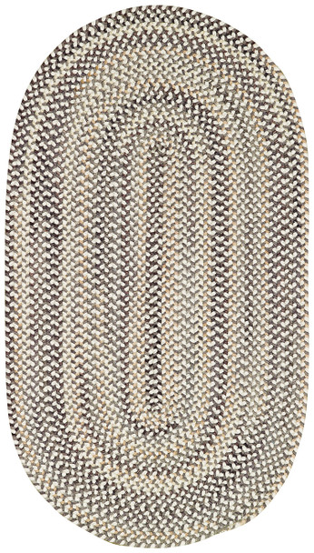 Capel Sherwood Forest Smoke 0980_300 Braided Rugs
