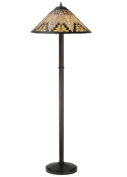 "Meyda 63""h Nuevo Mission Floor Lamp - 115434"