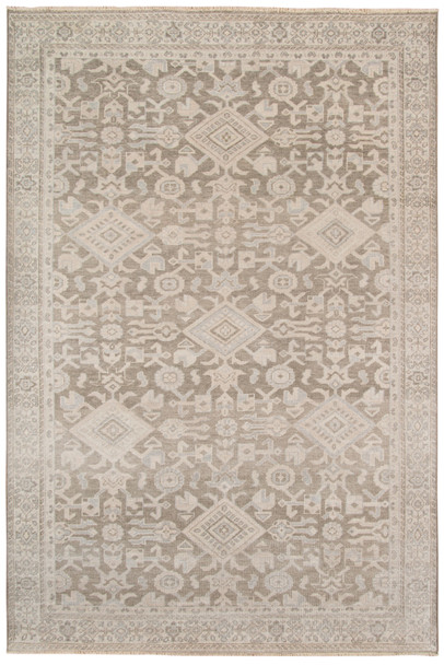 Amer Rugs Ainsley AIN-3 Santas Gray Gray Hand-knotted Area Rugs