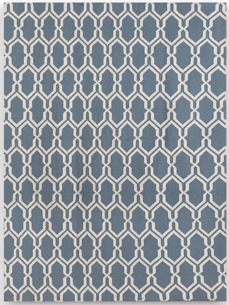 Amer Rugs Zara ZAR-9 Blue Blue Flat-weave Area Rugs