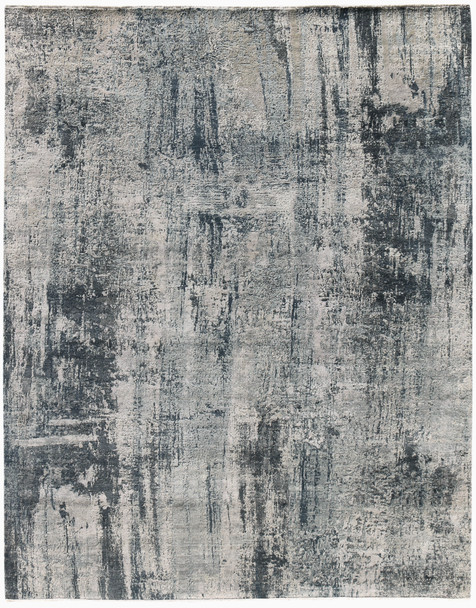 Amer Rugs Zenith ZEN-52 Graphite Gray Hand-knotted Area Rugs