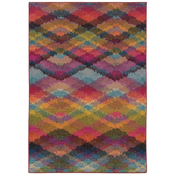 Oriental Weavers Sphynx Kaleidoscope 631X5 Area Rugs