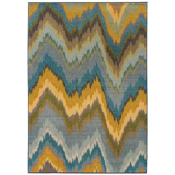 Oriental Weavers Sphynx Kaleidoscope 8020G Area Rugs