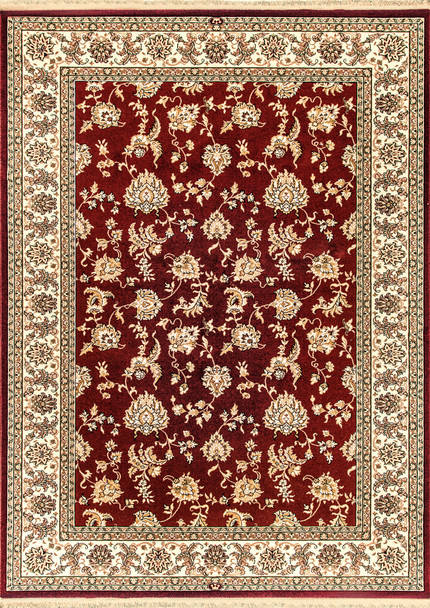 Dynamic Brilliant Machine-made 7226 Red Area Rugs