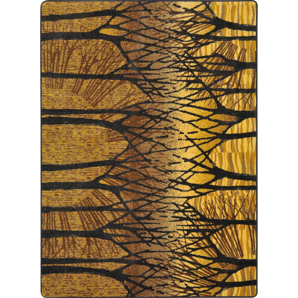 First Take Woodland Way Goldenrod Area Rugs