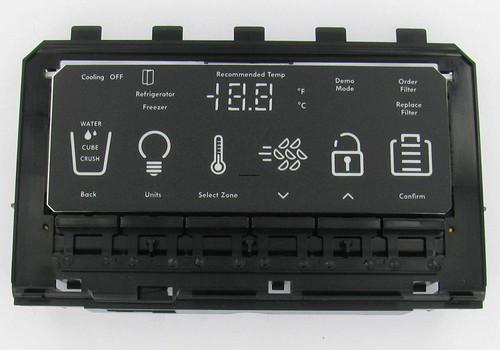 Whirlpool / W10540687 / W10623101 / WPW10623101 Refrigerator User Interface