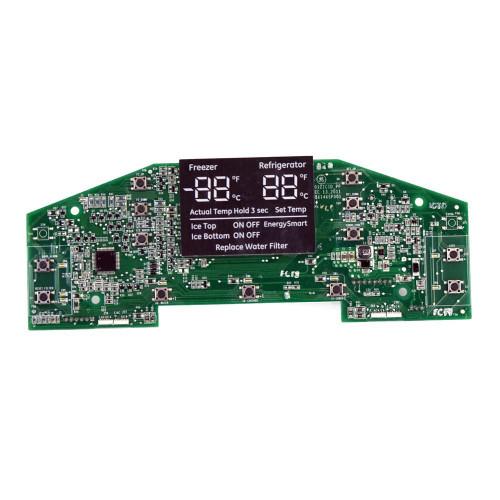 GE REFRIGERATOR DISPENSER DISPLAY AND TEMP BOARD WR55X11144