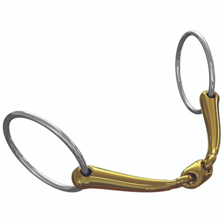 TRANZ LOZENGE LOOSE RING SNAFFLE