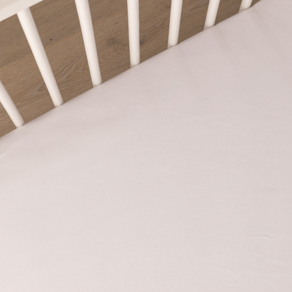 Organic Sateen Fitted Cot Sheet