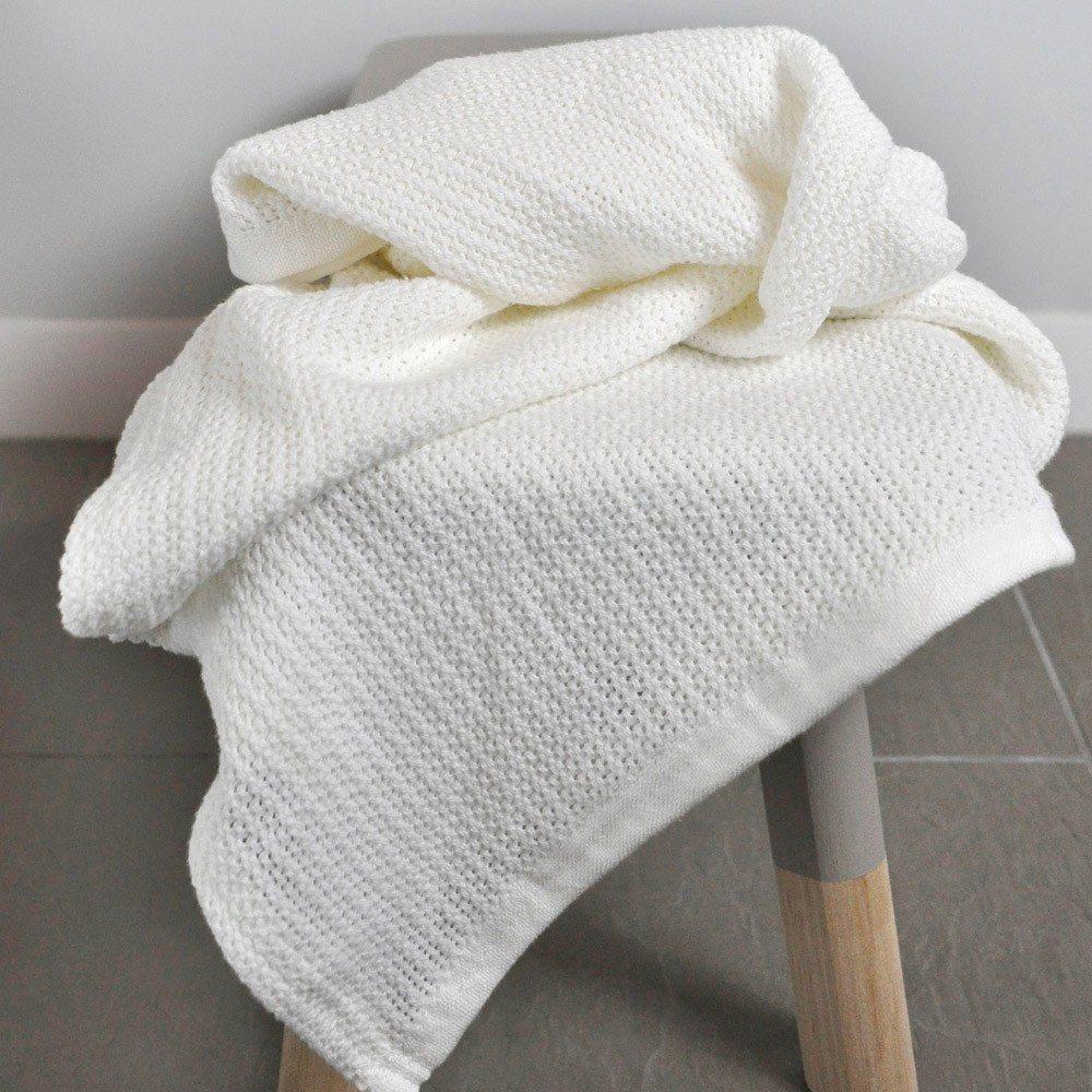 Organic Cotton Cellular Blanket
