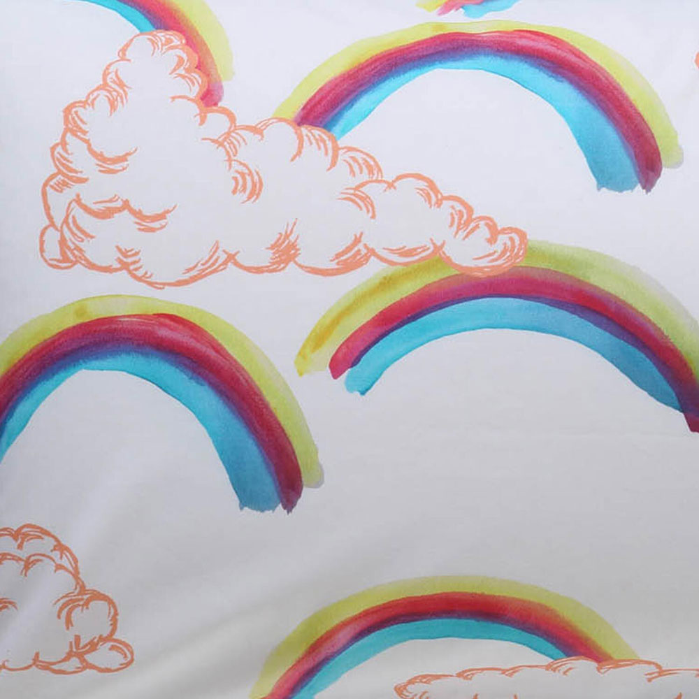 Cotton Duvet Cover - Over the Rainbow