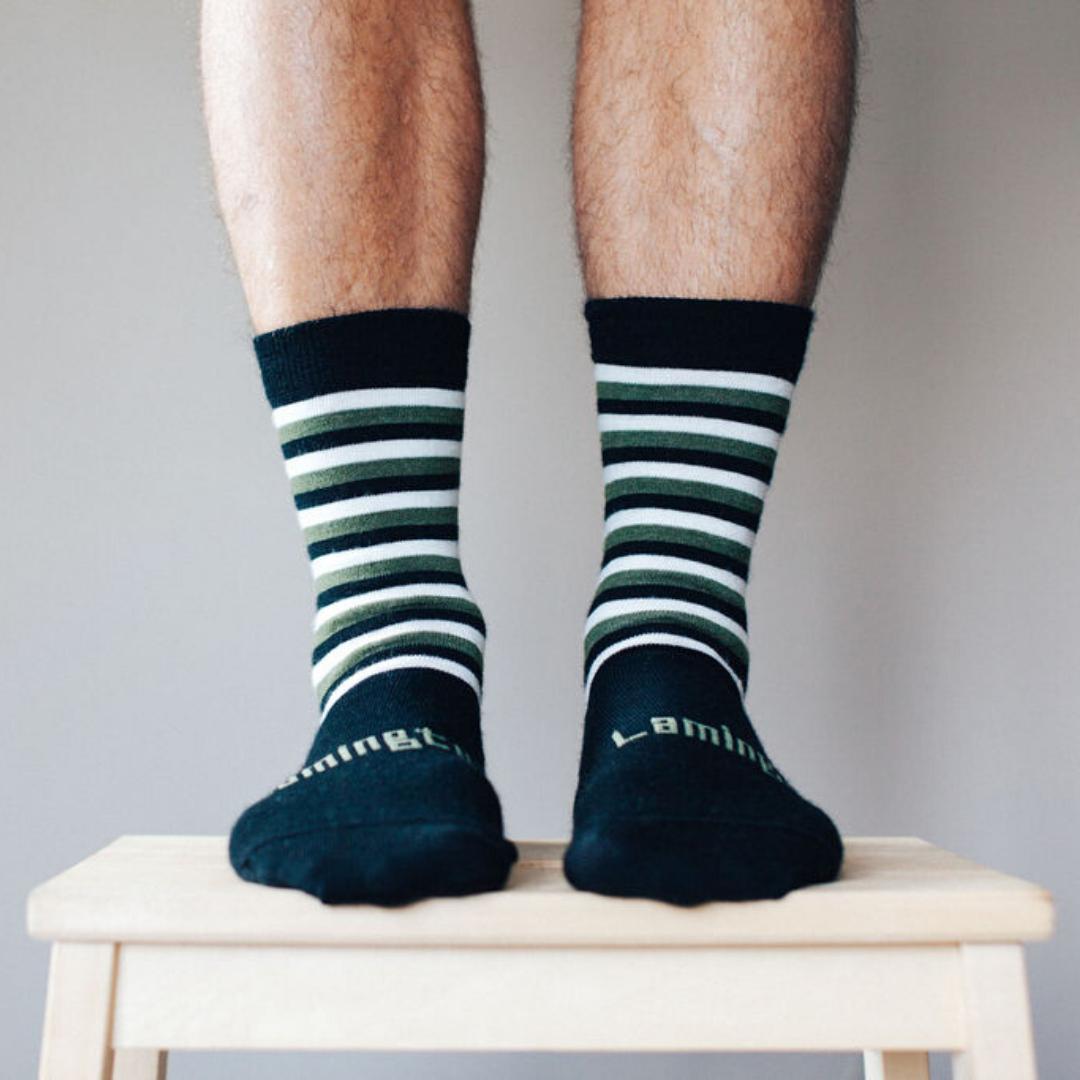 Mens Crew Merino Socks