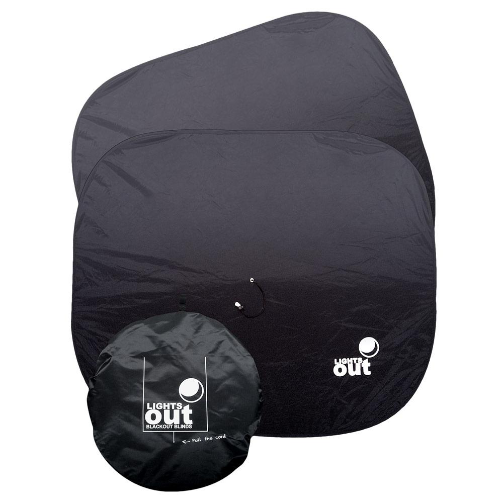 Standard Lights Out Blackout Blind - 2 pack