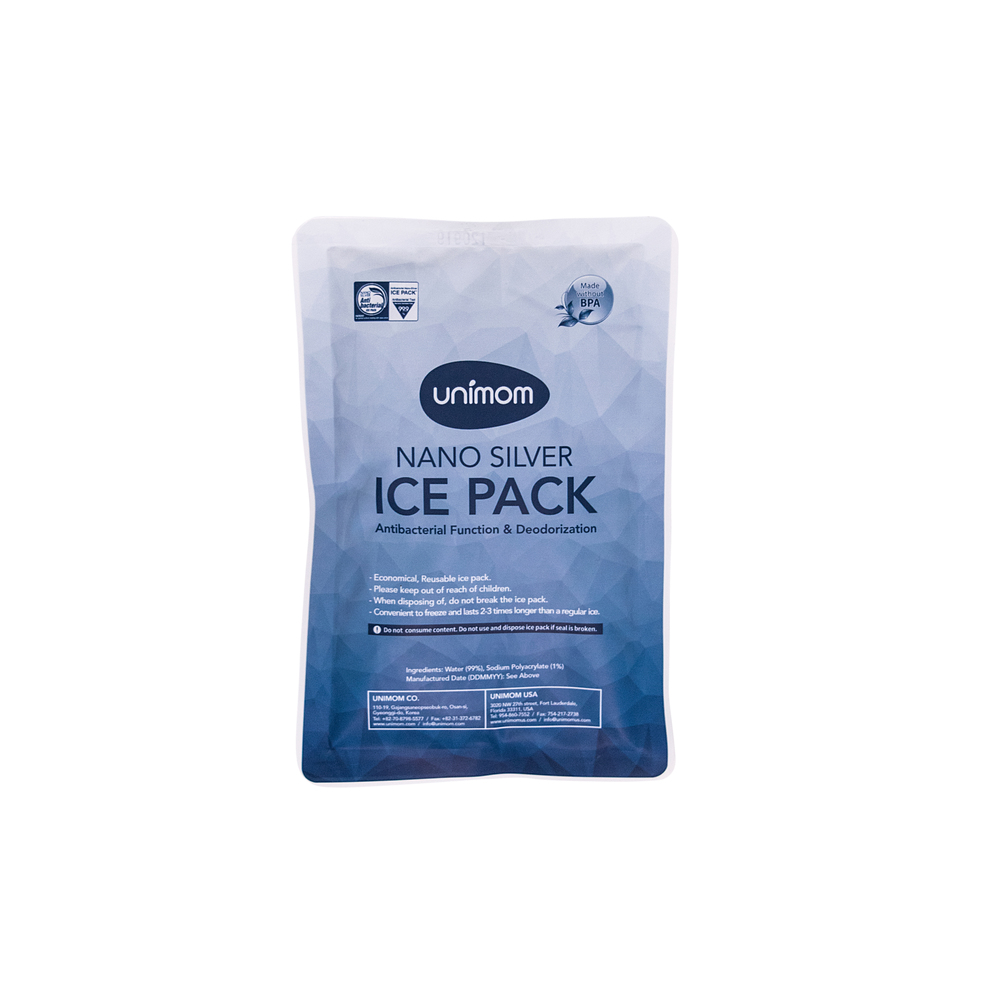 Single Silver Ice Pack