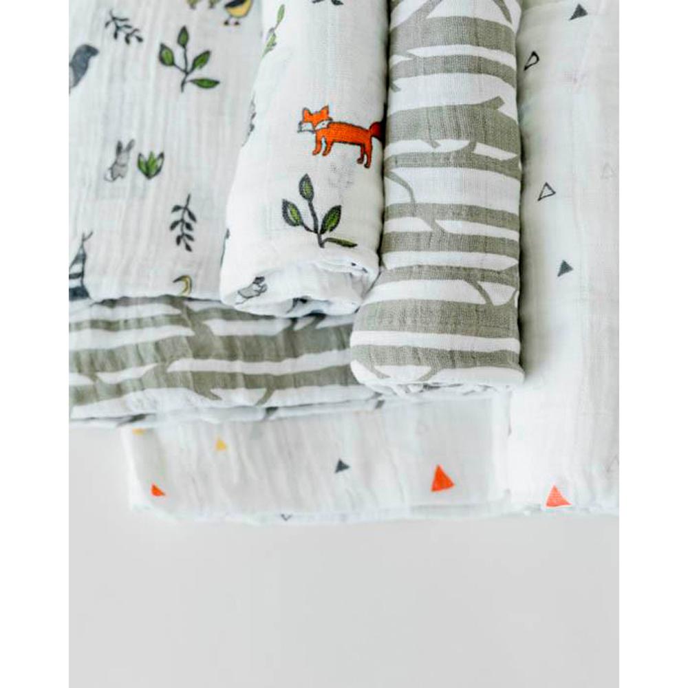 Little Unicorn - 3pk Cotton Muslin Swaddle