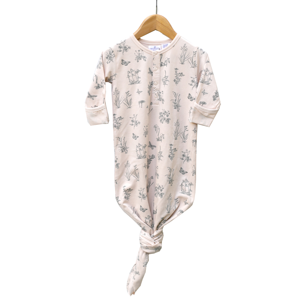 Burrow & Be Organic Cotton Essentials Gown