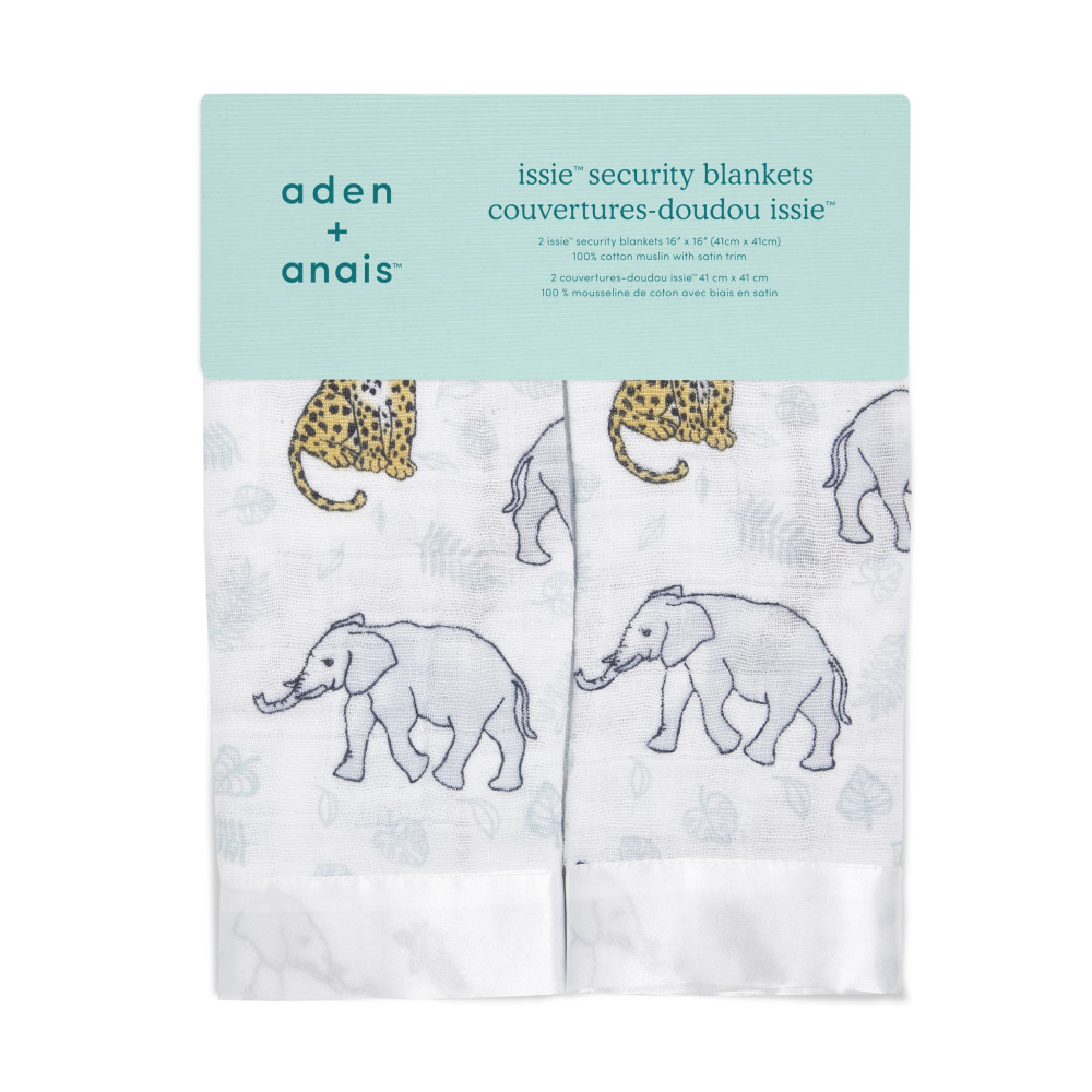 Aden & Anais Issie Security Blanket 2 pack