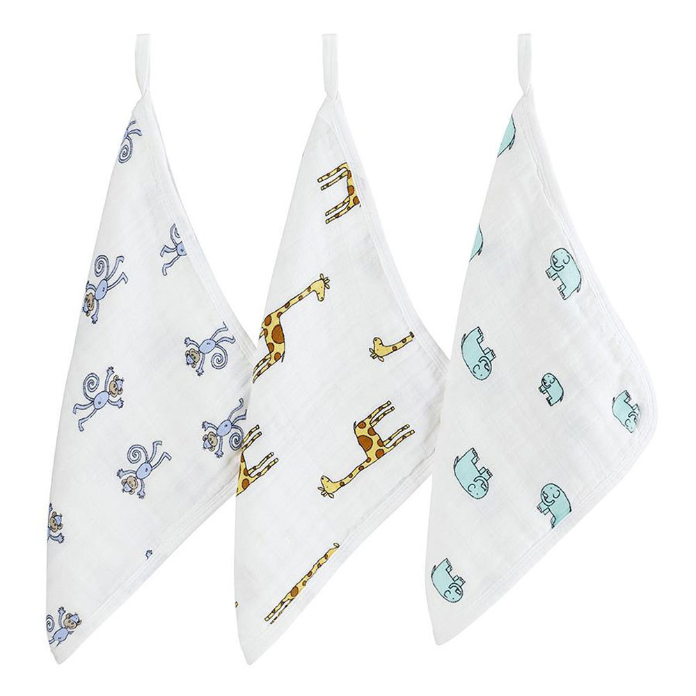 Aden & Anais Muslin Washcloths 3 pack