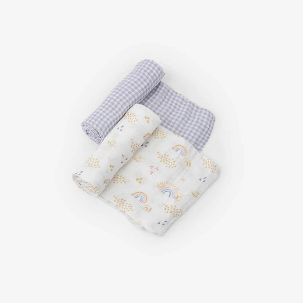 Deluxe Muslin Swaddle - 2 pack