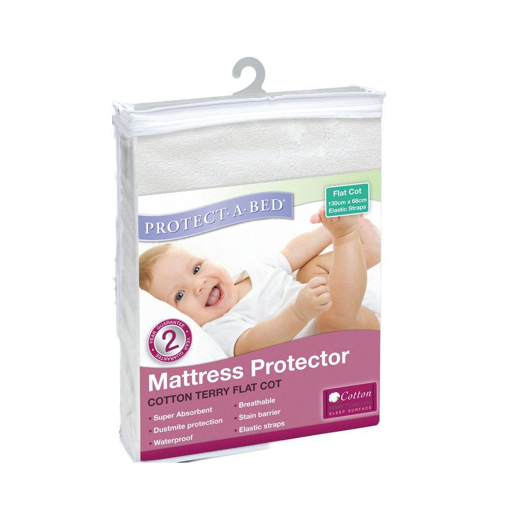 Terry Flat Mattress Protector