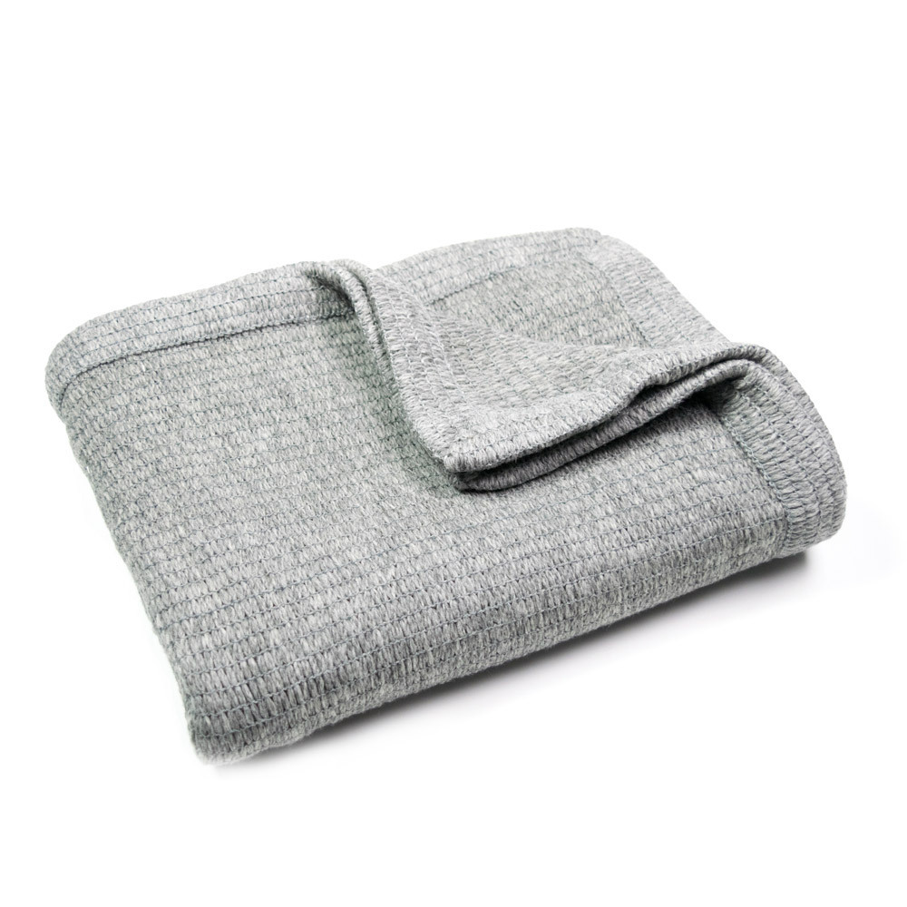 Merino Thermacell Blanket - Woven Edge