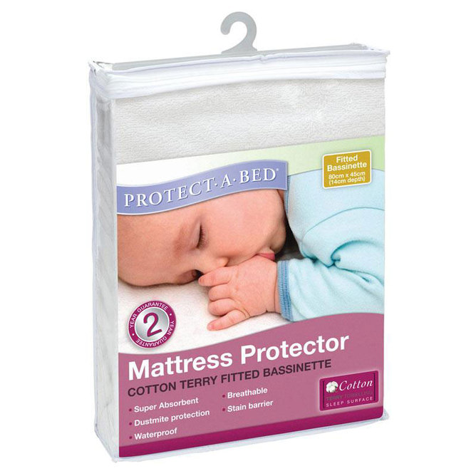 Terry Fitted Mattress Protector