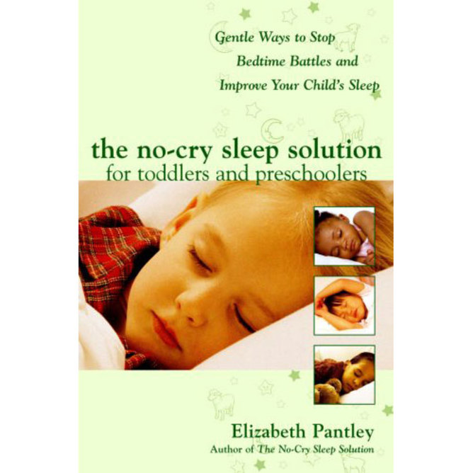 The No Cry Sleep Solution for Toddlers