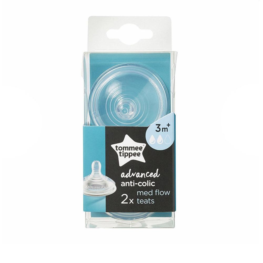 Advanced Anti-Colic Teats - 2 pack