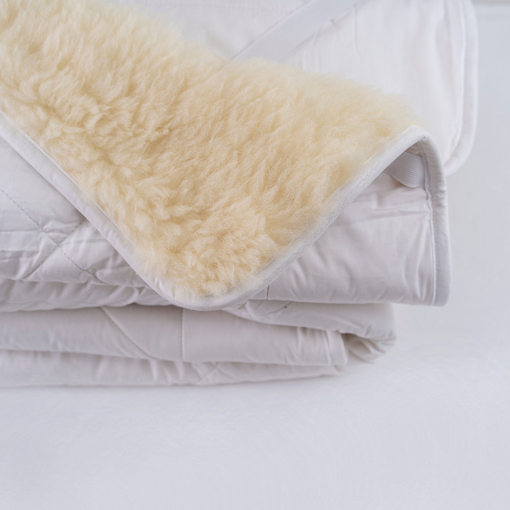 Reversible Quilted Wool Underlay