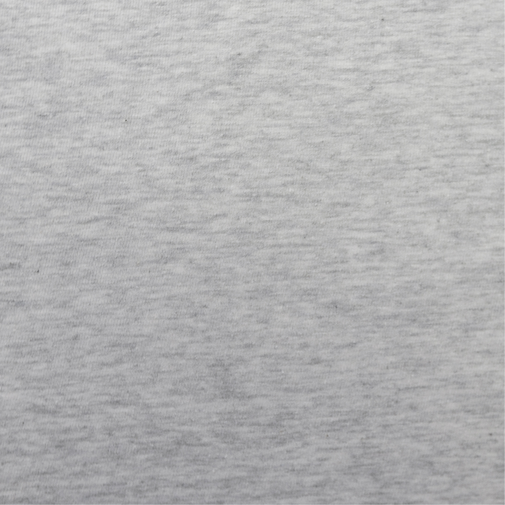 Organic Jersey Fitted Sheet - Grey Marl