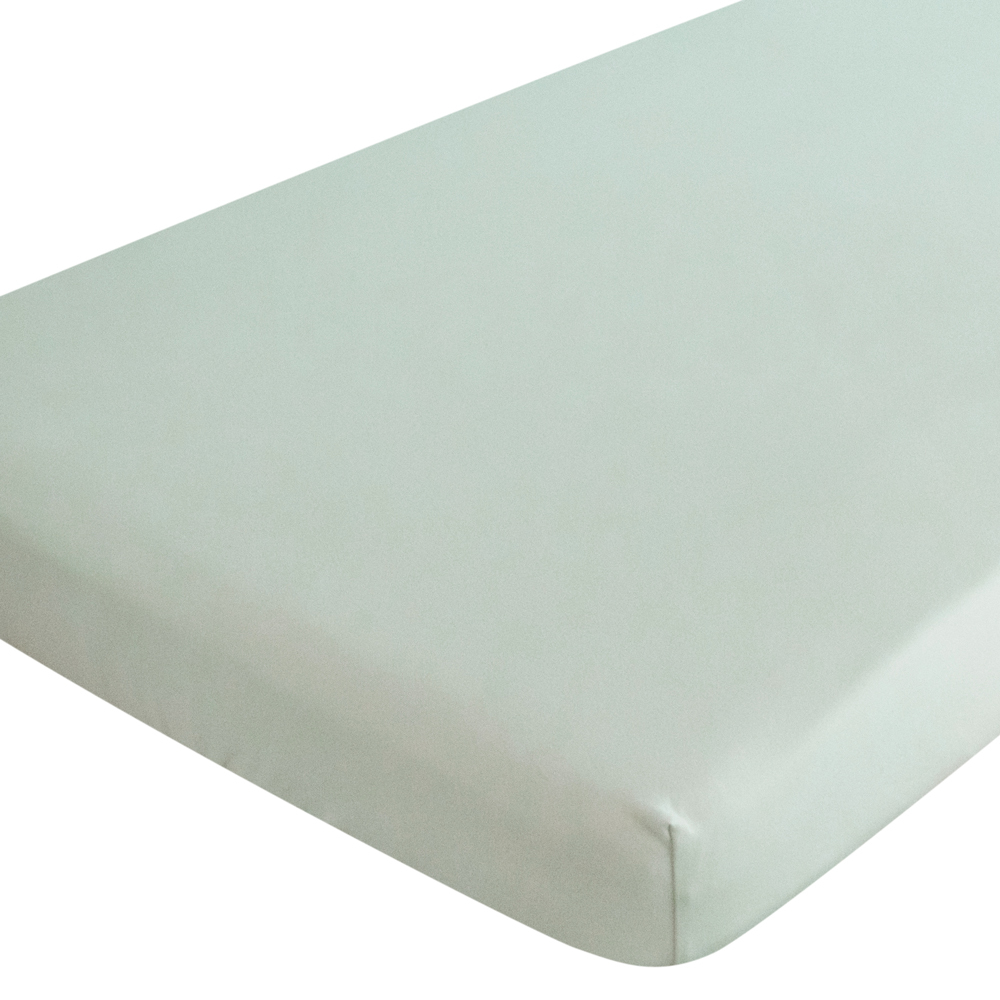Organic Jersey Fitted Sheet - Green