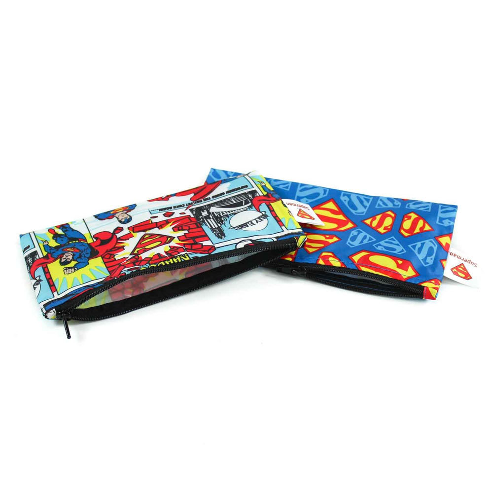 Small Snack Bag 2 pack - DC Comics