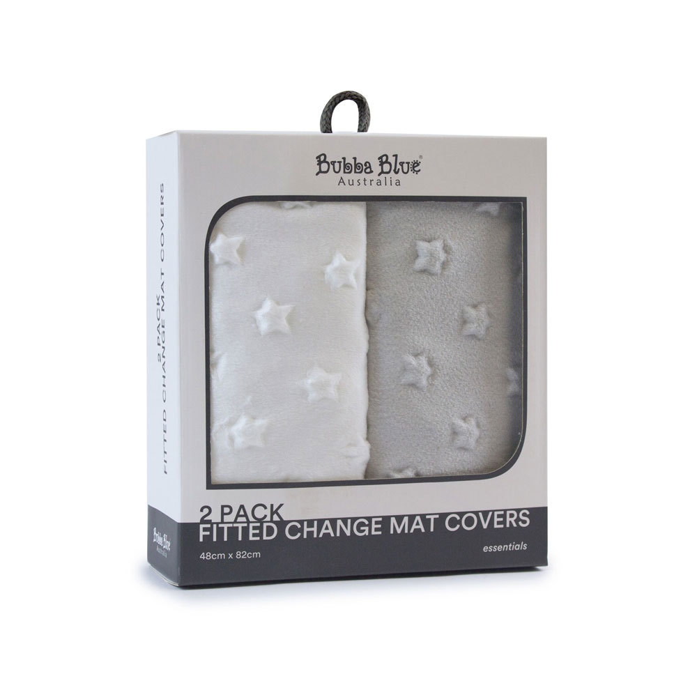 Bubba Blue 2-pack Change Mat Covers
