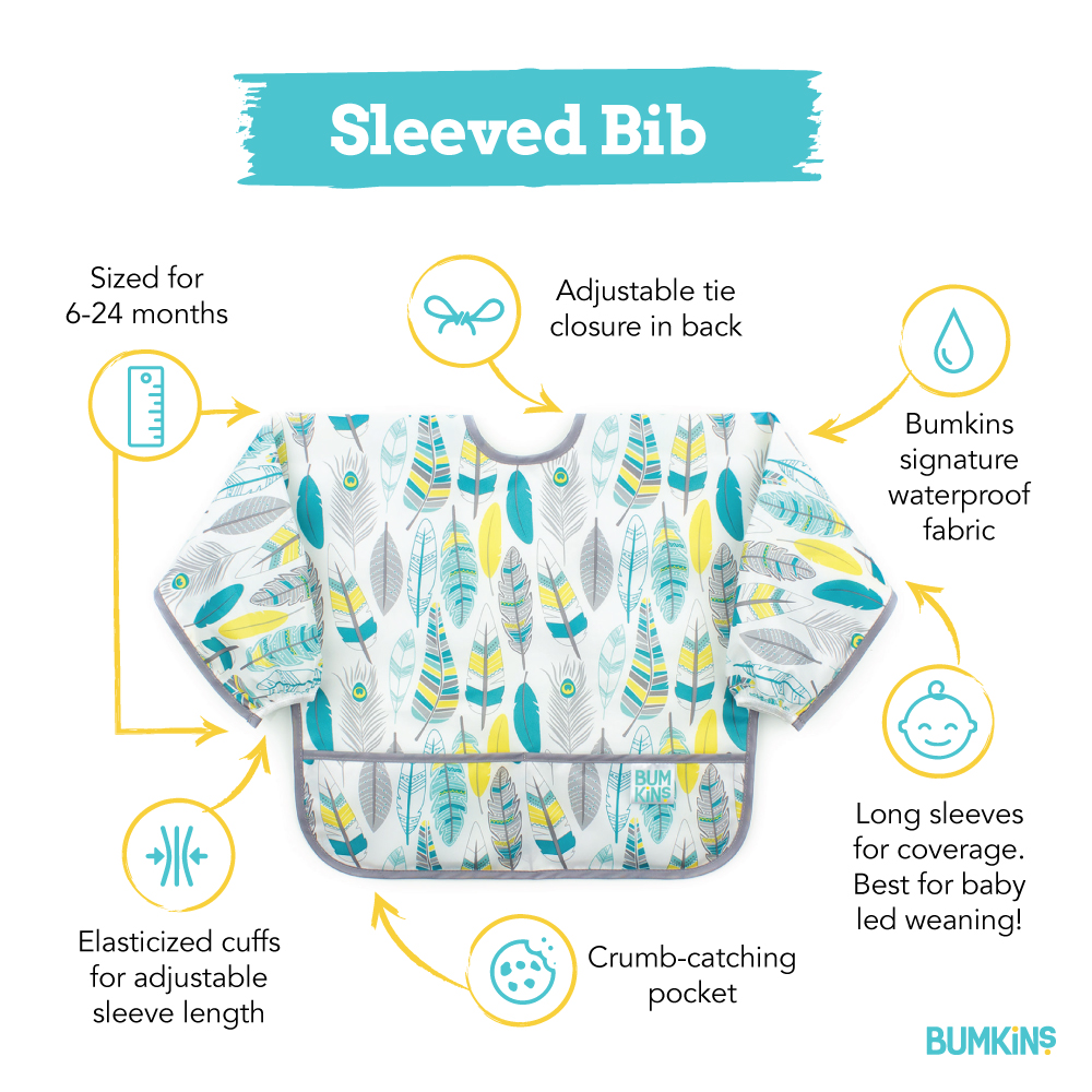 Waterproof Sleeved Bib