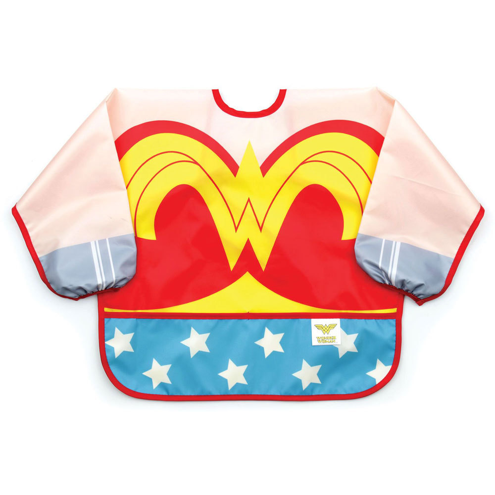 Costume Sleeved Bib - DC Comics
