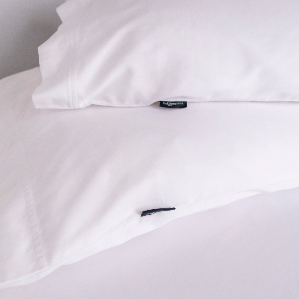 375TC Organic Sateen Pillowcase - 2pack