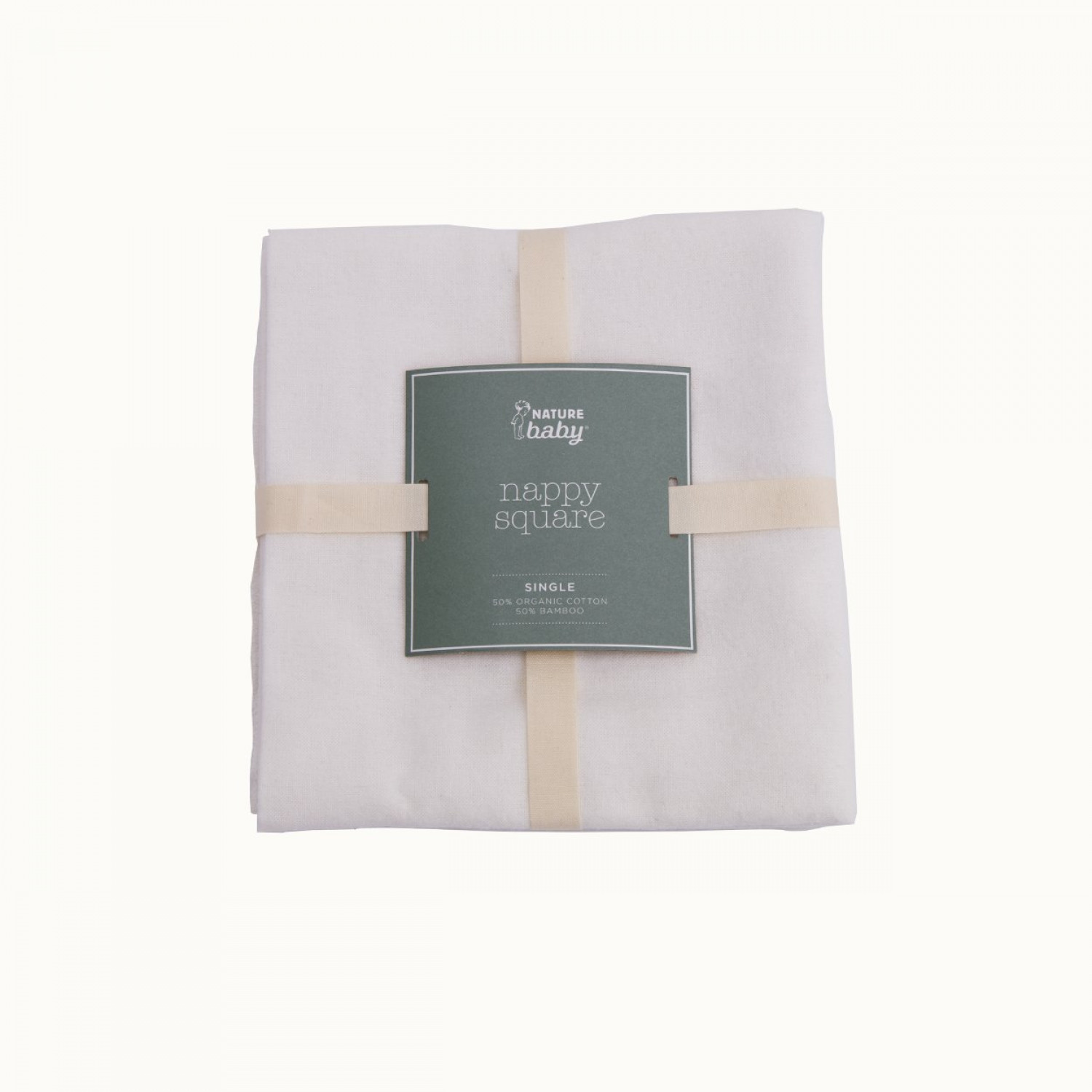 Organic Nappy Square - 1pack