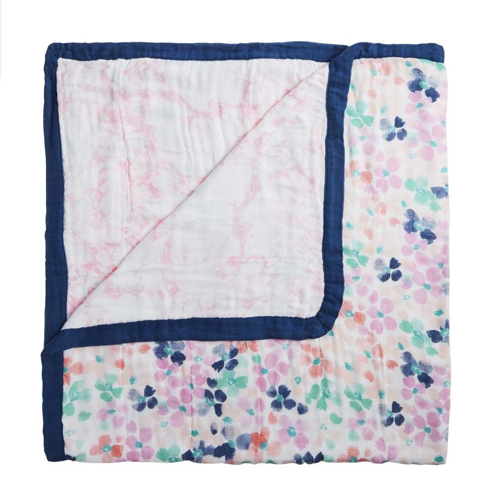 Aden & Anais Silky Soft Dream Blanket - White Label