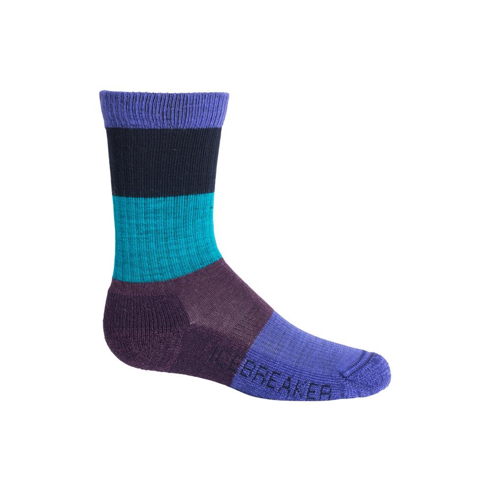Icebreaker Kids Hike Light Crew Socks - Macro