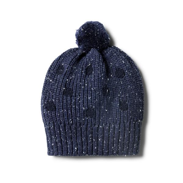 Knitted Spot Hat