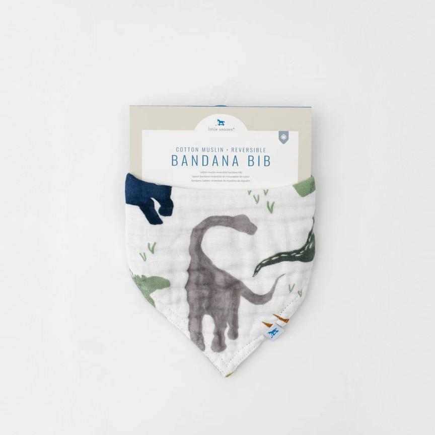Little Unicorn - Reversible Muslin Bandana Bib