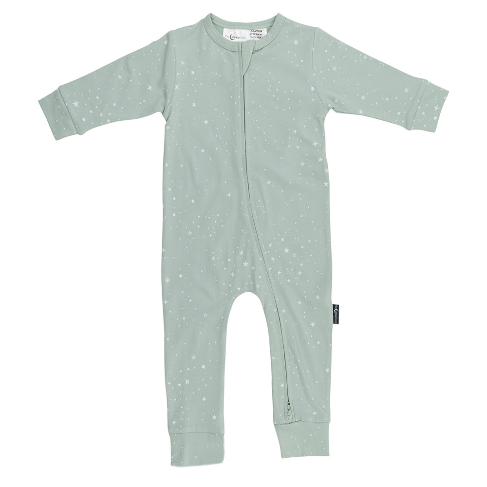 Organic Cotton Fitted Zip Suit - Elements Range