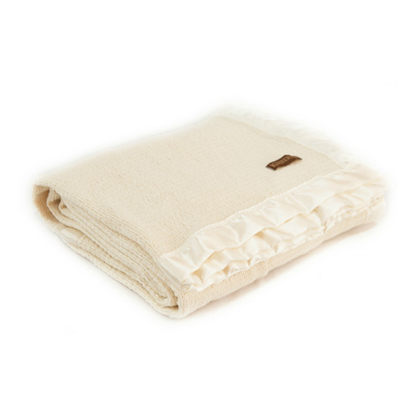 Ivory NZ Wool Thermacell Blanket - Special Order