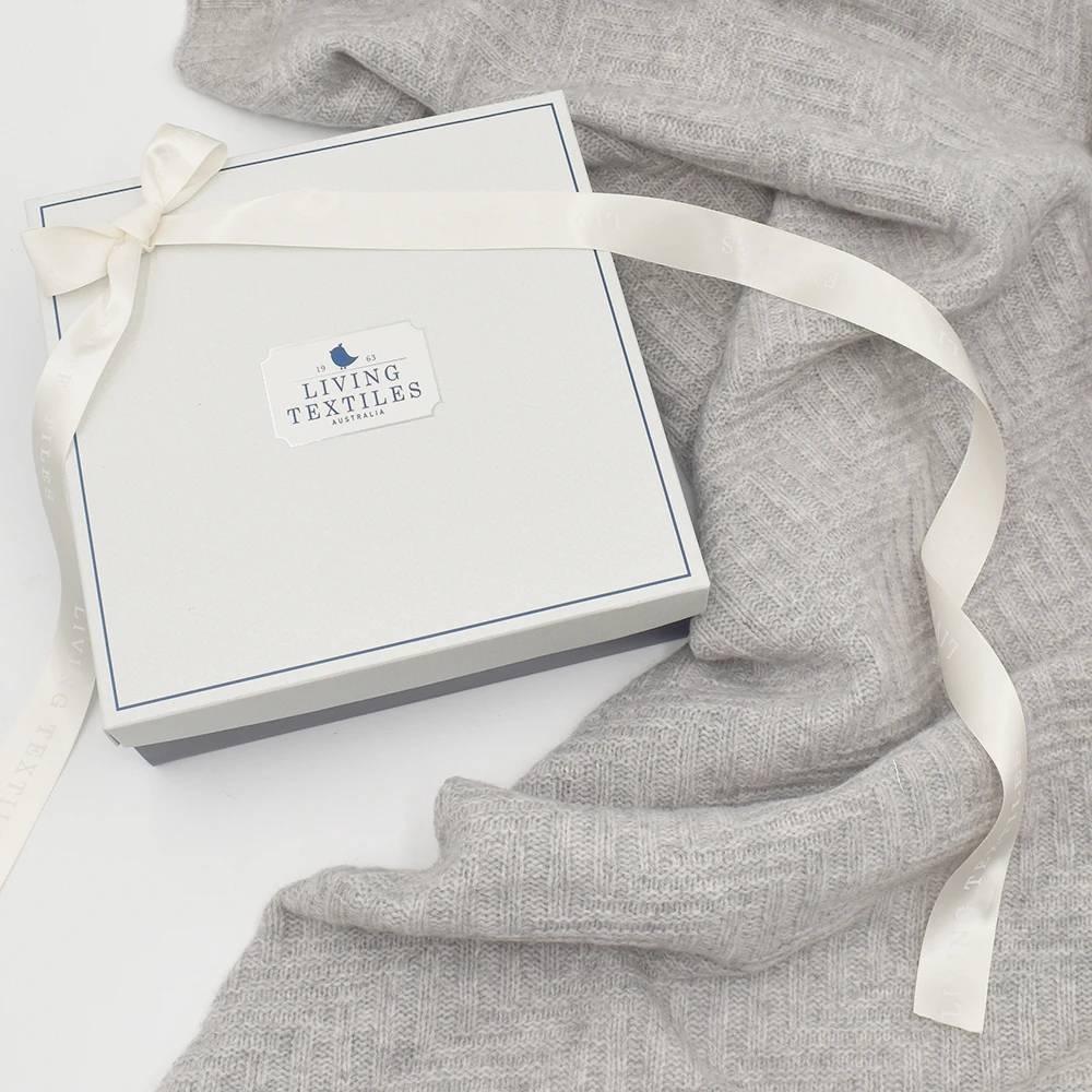 Living Textiles - Merino Bassinet/Pram Blanket