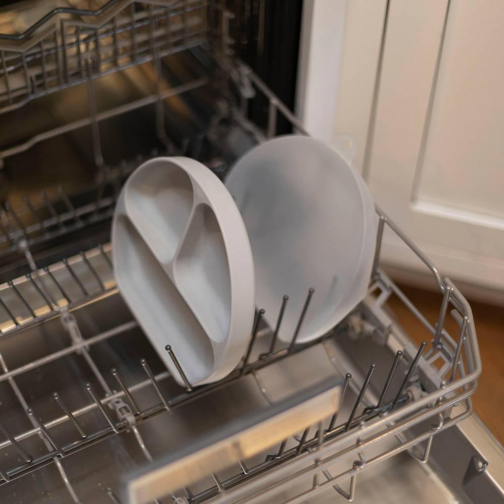 Bumkins Silicone Grip Dish + Lid