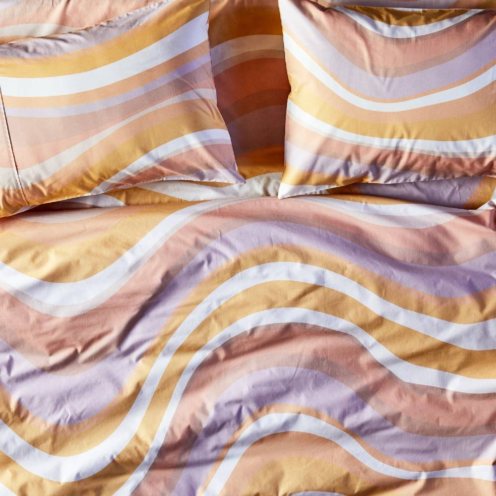 Kip & Co Fitted Sheet - Ripple