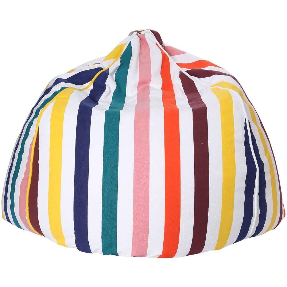 Kip & Co Canvas Beanbag Cover - Big Stripe