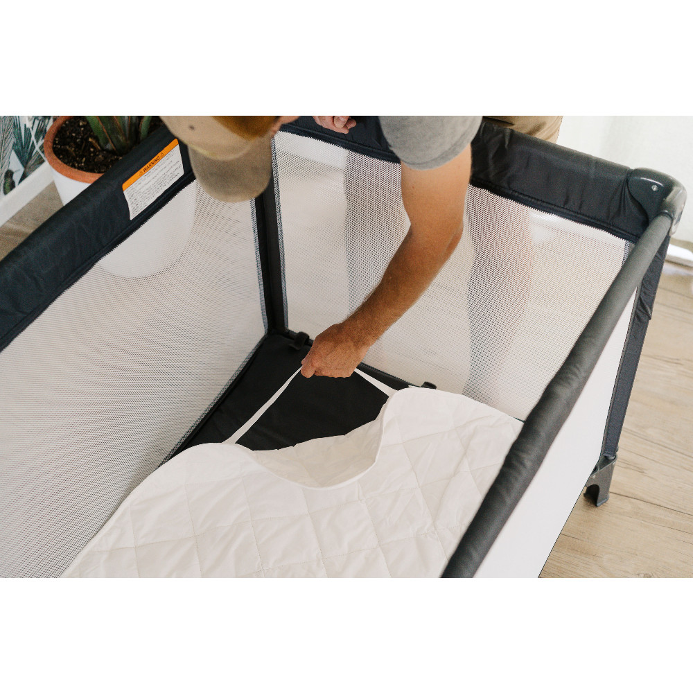 The Sleep Store Quilted Wool Topper - Quest Portacot