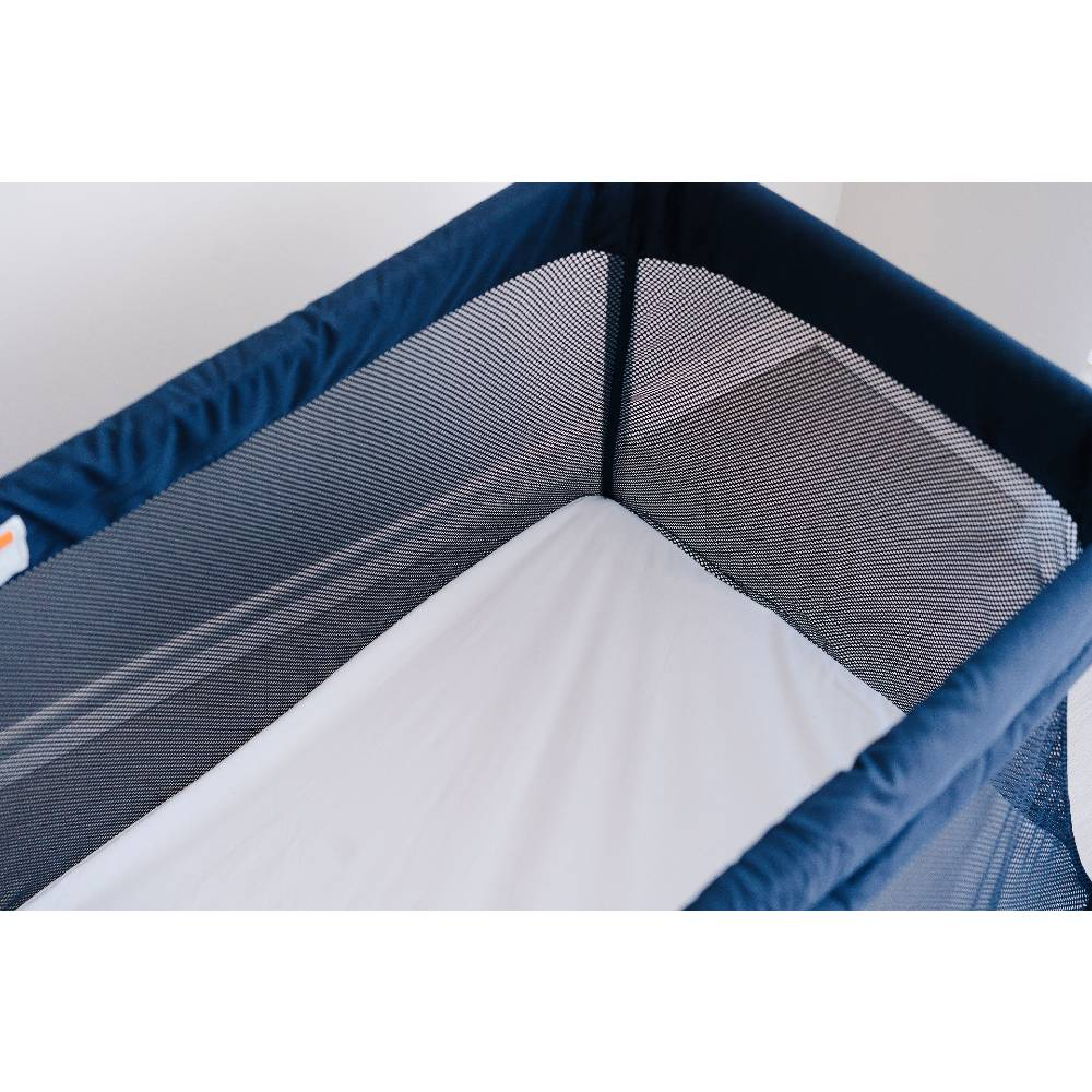 Waterproof Fitted Protector Sheet - Drift Travel Cot