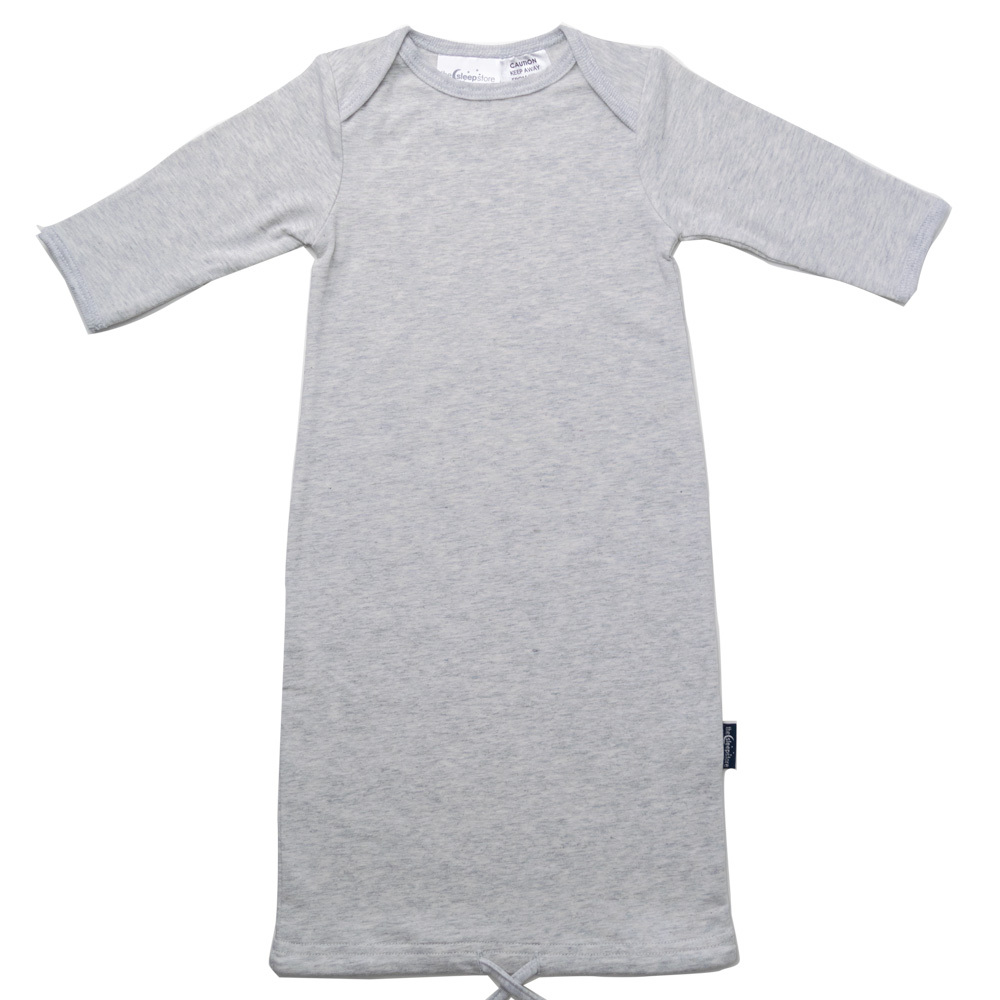 Organic Cotton Baby Gown - Prem